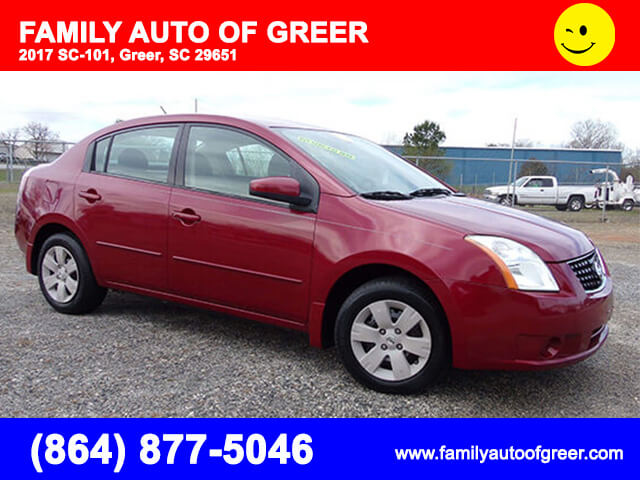 Nissan Sentra - Family Auto of Greer