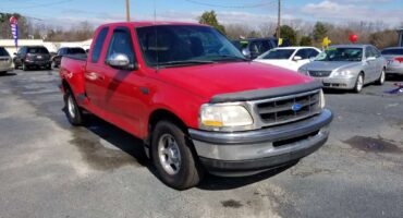 Ford F-150 1997 Red