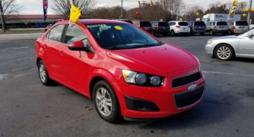 Chevy Sonic 2014 Red