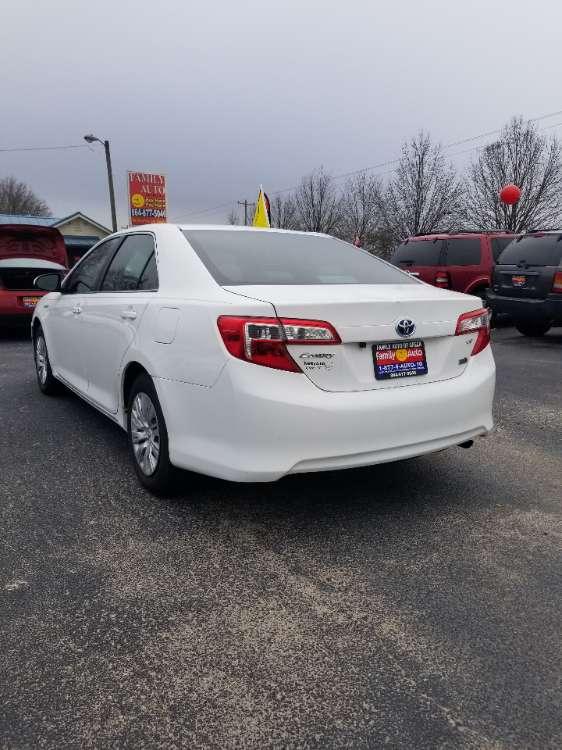 Toyota Camry 2014 White