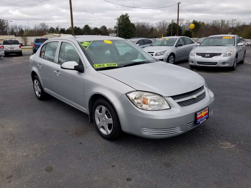 Chevy Cobalt 2008 Silver