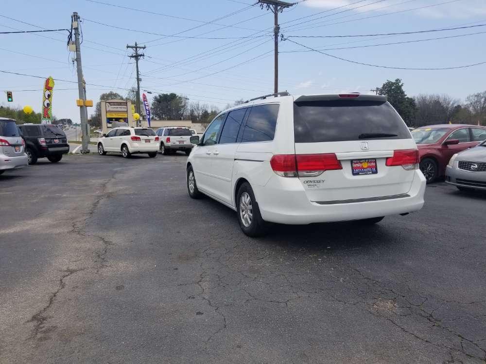 Honda Odyssey 2009 White