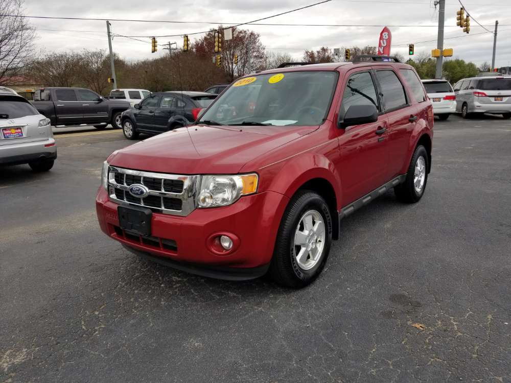 Ford Eacape 2010 Red