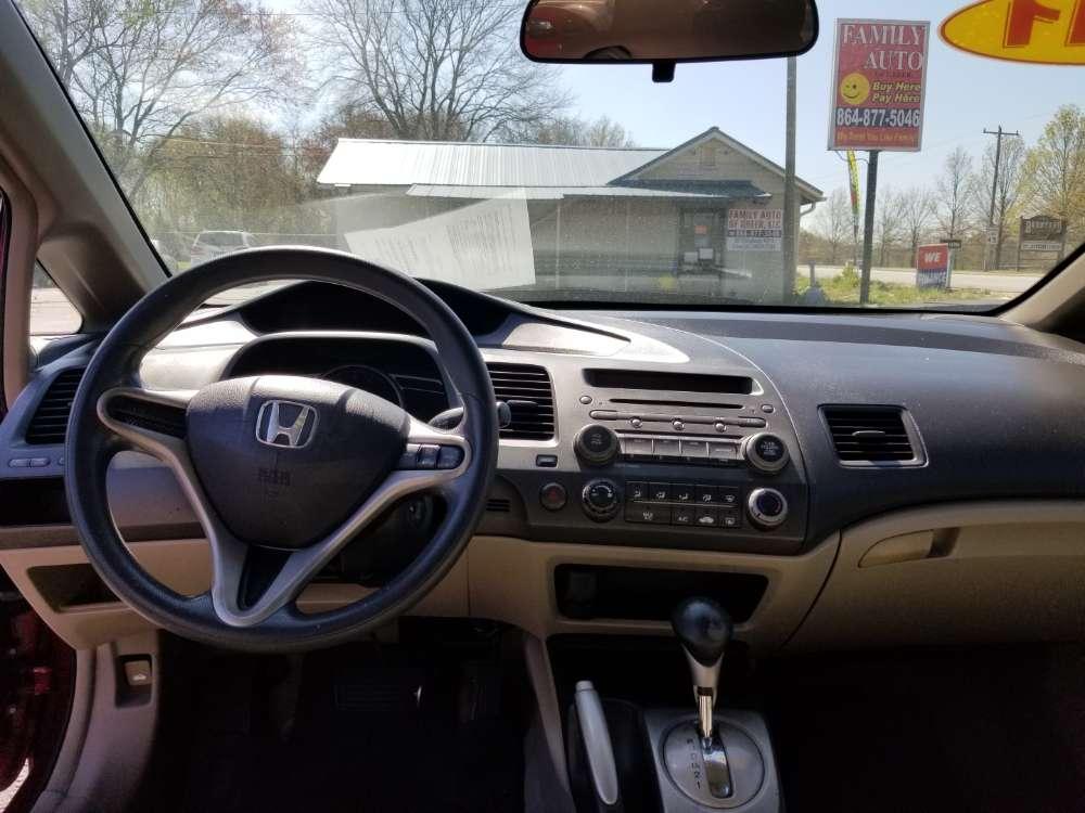 Honda Civic 2011 Red