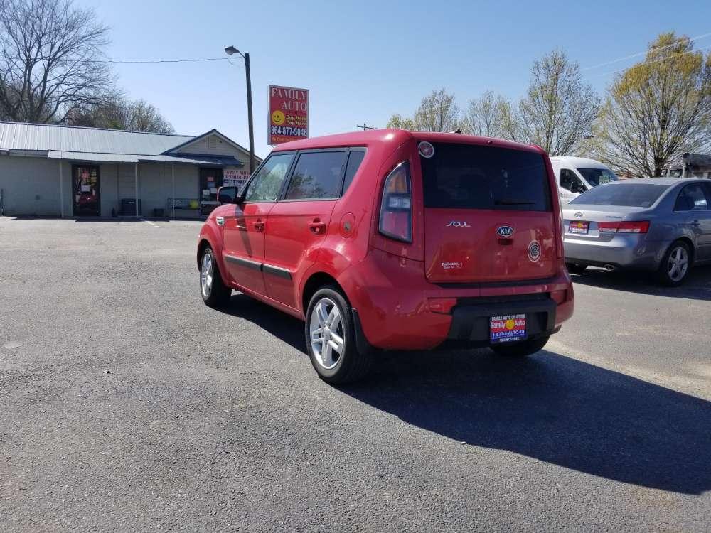 Kia Soul 2011 Red