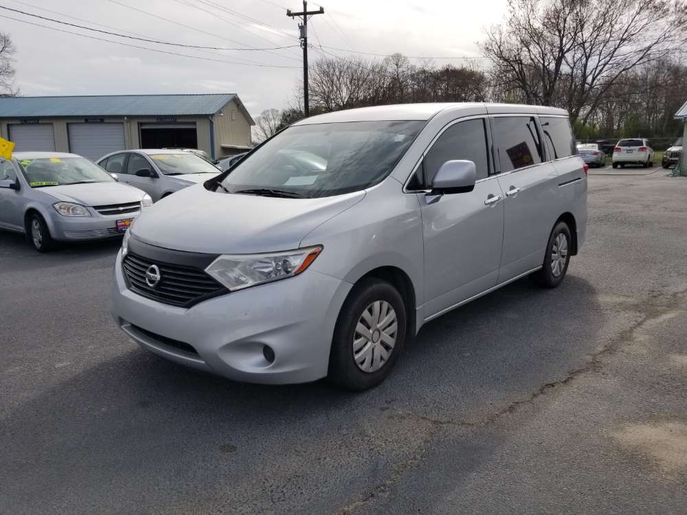 Nissan Quest 2014 Silver