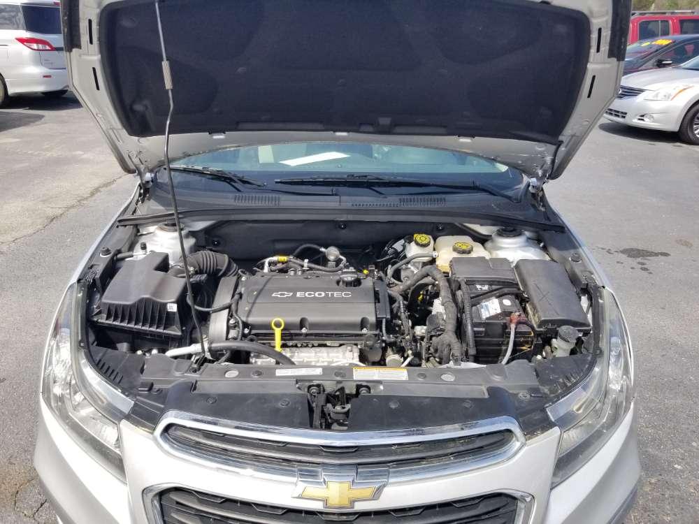 Chevrolet Cruze 2015 Silver