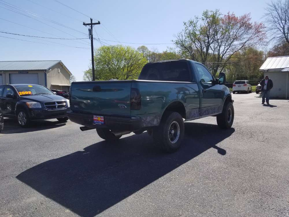 Ford F-150 1998 Green
