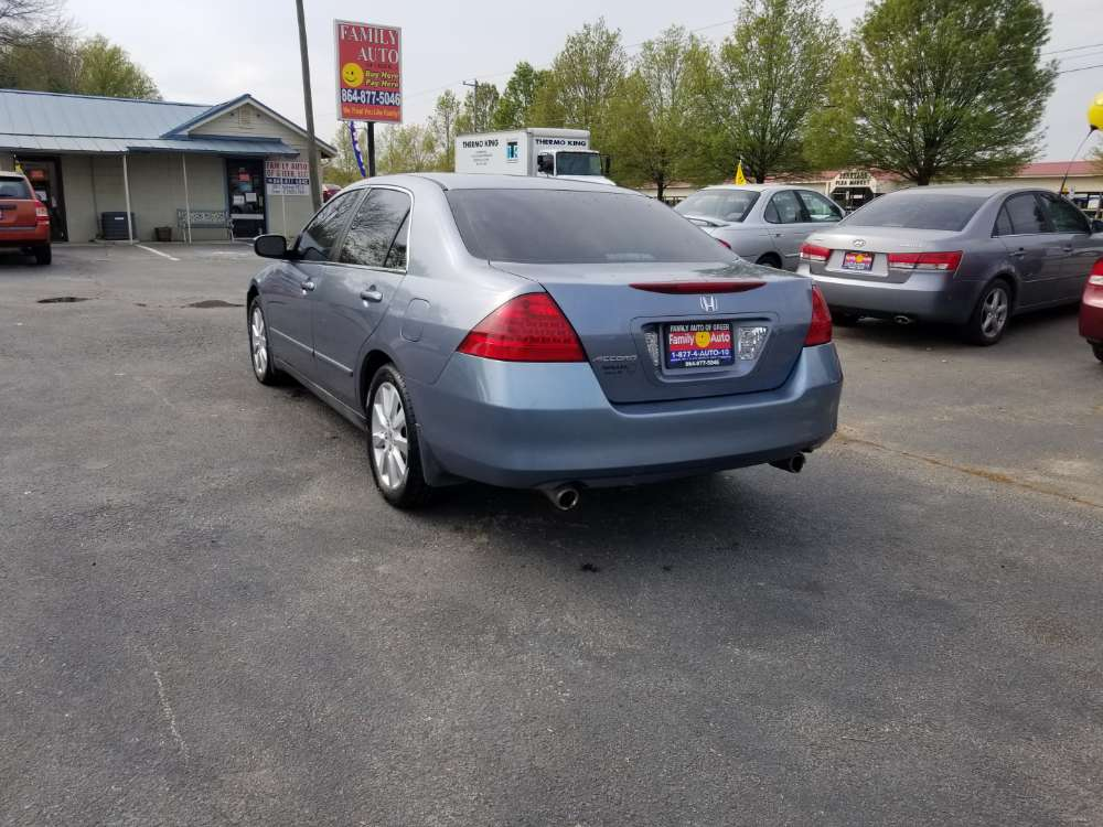 Honda Accord 2006 Blue
