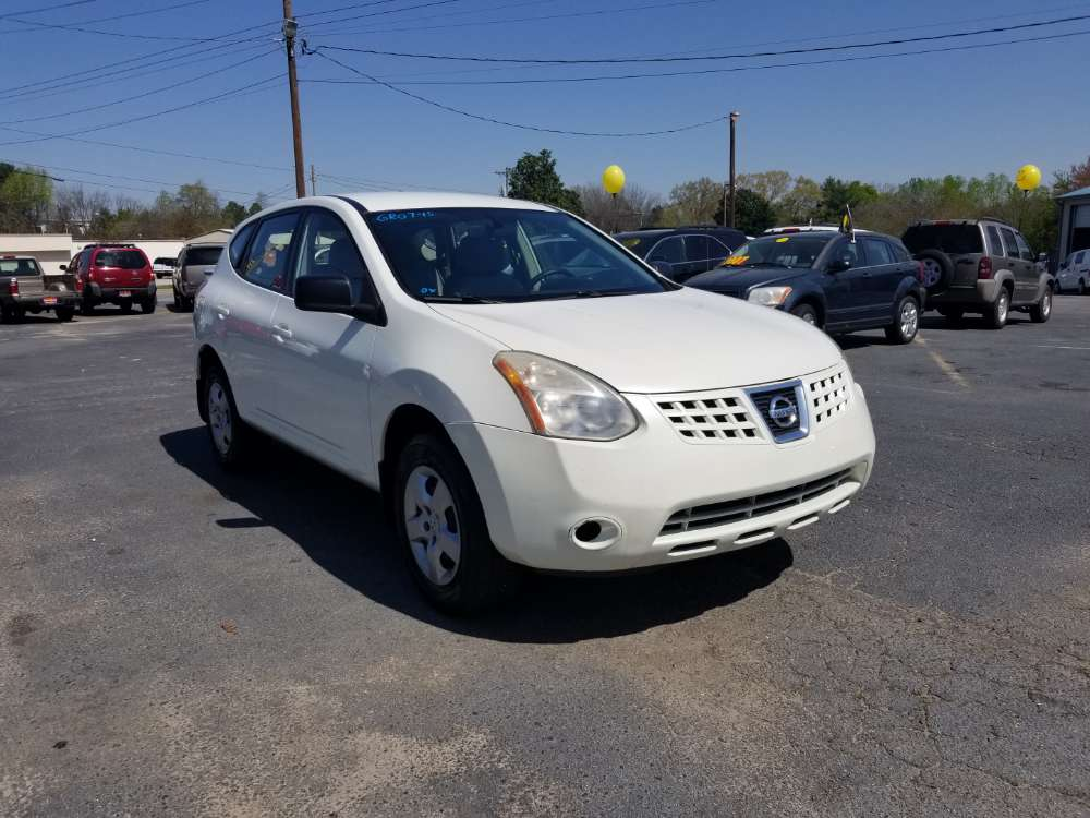 Nissan Rogue 2008 White