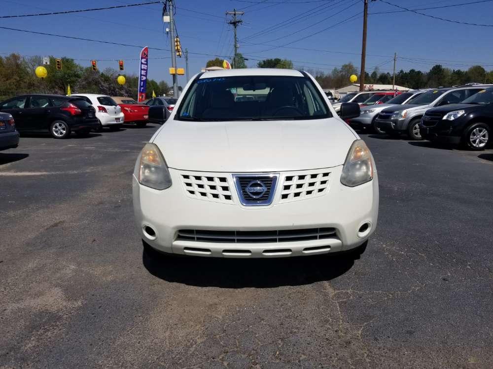 Nissan Rogue 2008 White