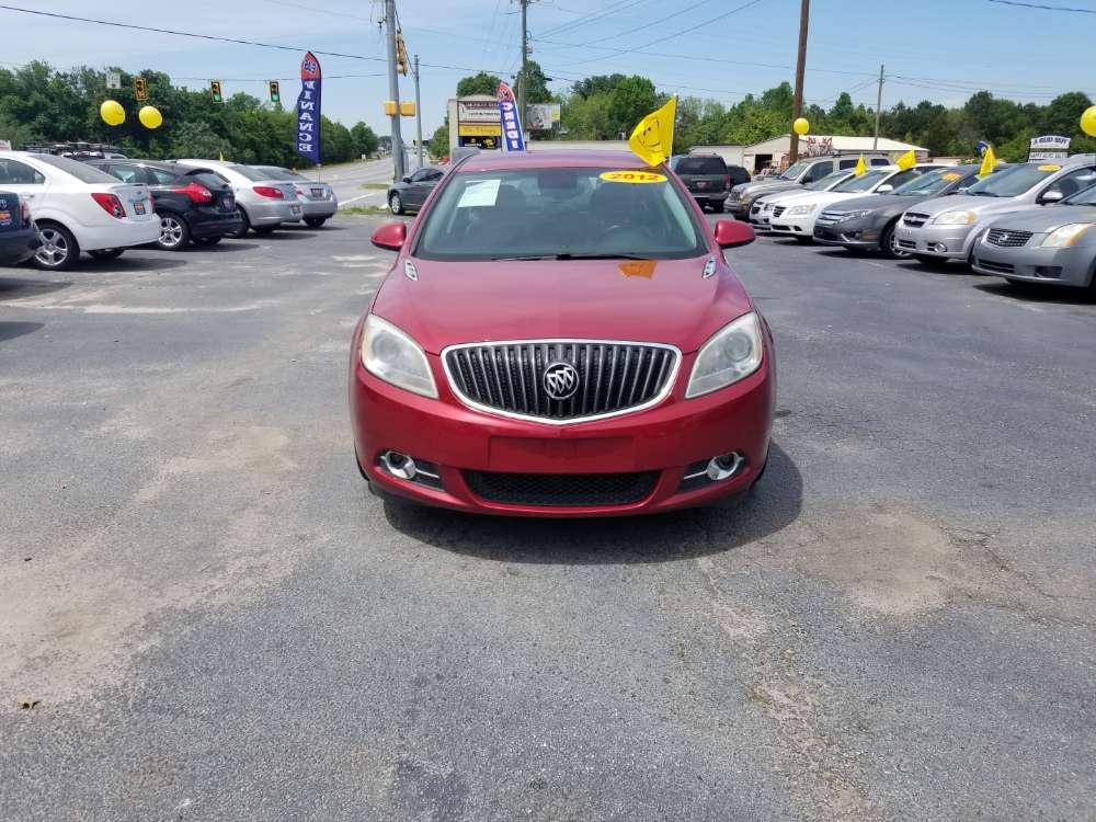 Buick Verano 2012 Red