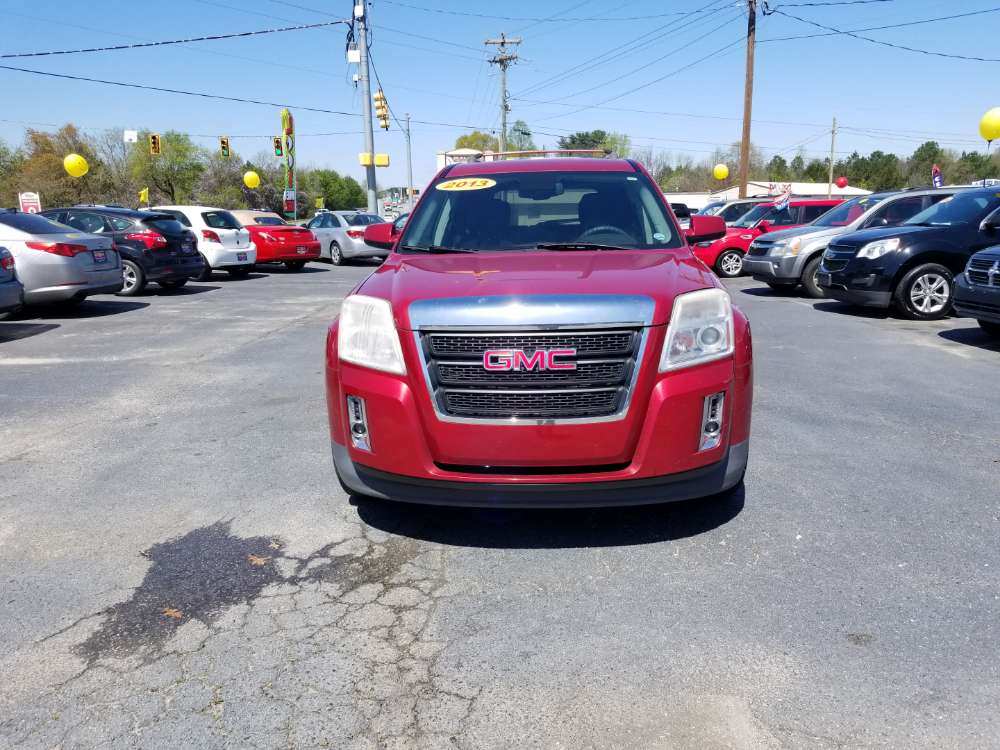 Gmc Terrian 2013 Red