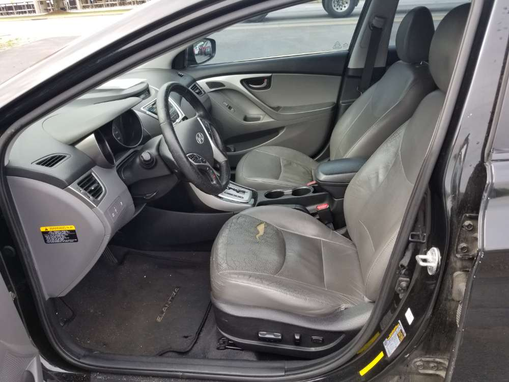 Hyundai Elantra 2013 Black