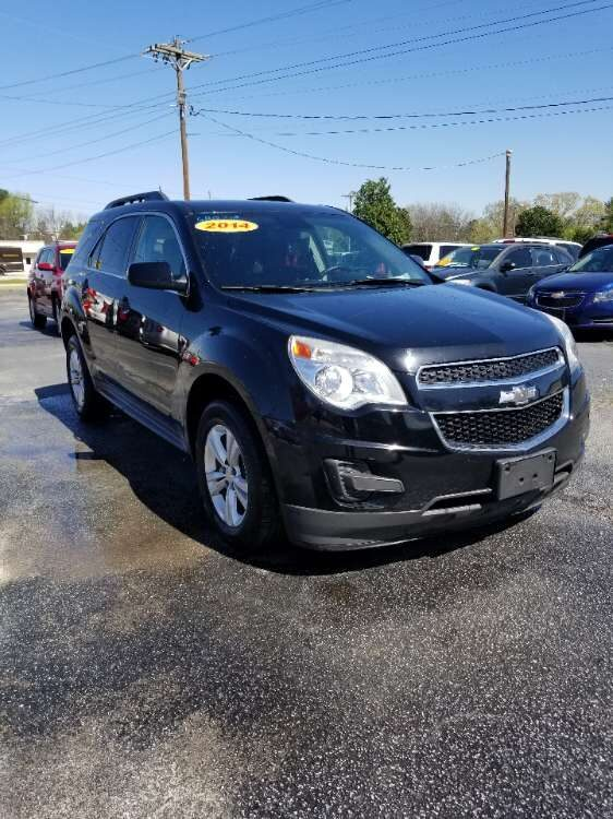 Chevy Equinox 2014 Black