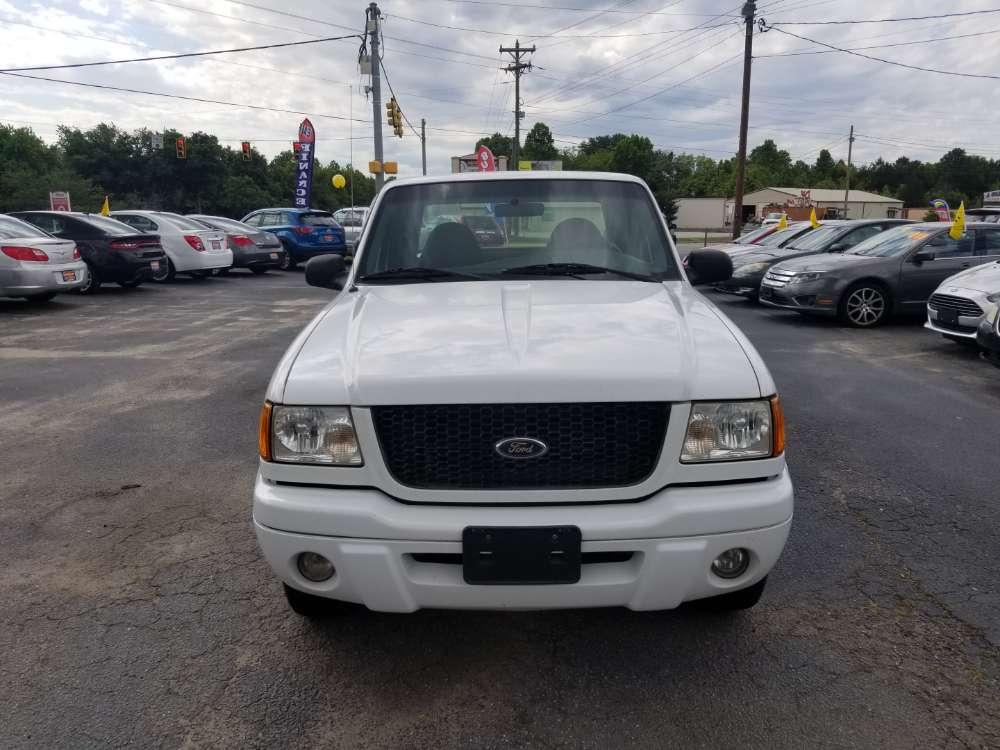 Ford Ranger 2003 White