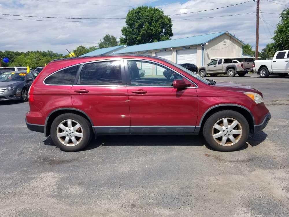 Honda CR-V 2008 Red