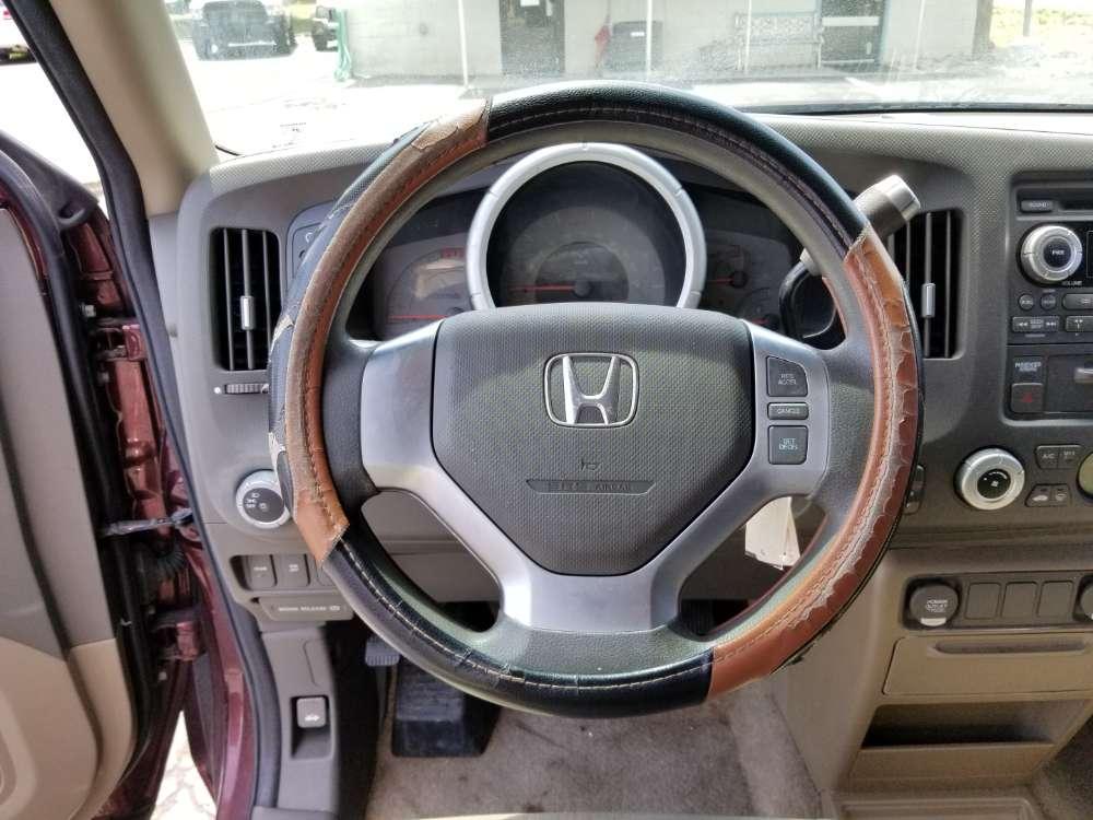 Honda Ridgeline 2008 Red