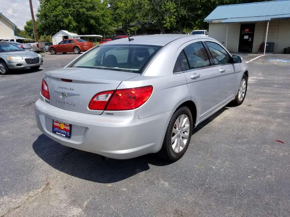 Chrysler Seabring 2010 Silver