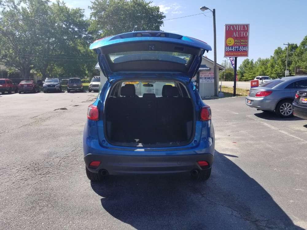 Mazda Cx5 2014 Blue
