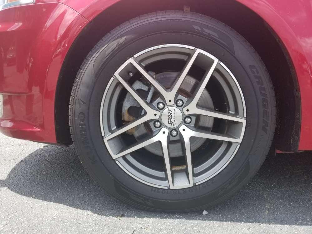 Ford Flex 2011 Red