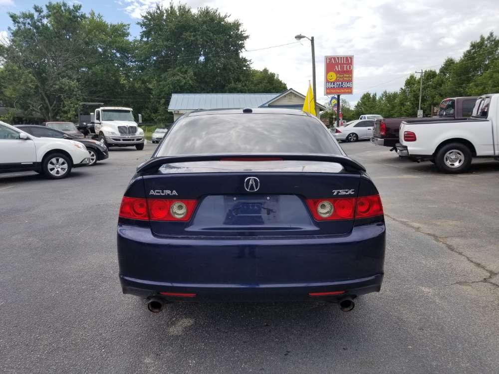 Acura Tsx 2006 Blue