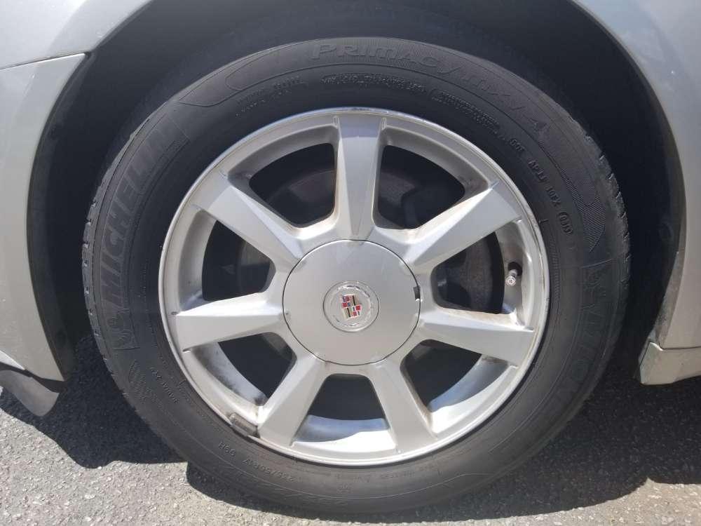 Cadillac Cts 2008 Silver