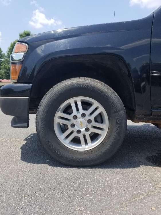 Chevrolet Colorado 2012 Black