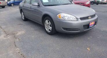 Chevy Impala 2007 Gray
